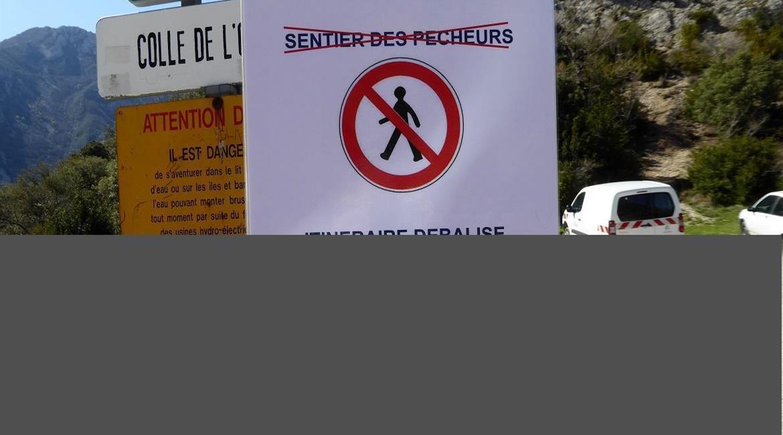 SENTIER DES PECHEURS ( Gorges du Verdon)