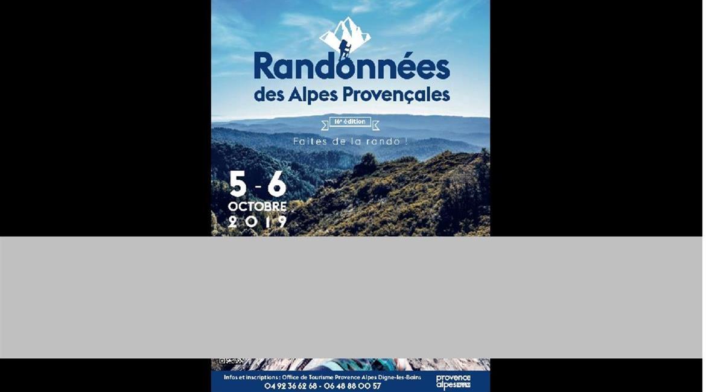 RANDONNEES DES ALPES PROVENCALES