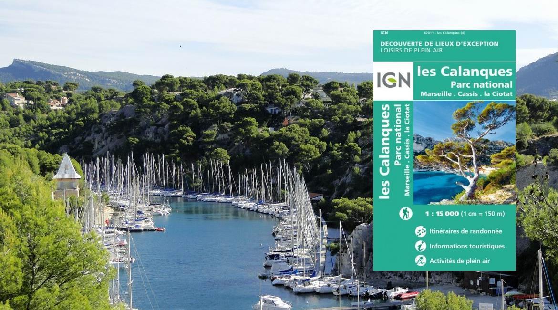 CARTOGRAPHIE : La carte IGN des Calanques réactualisée